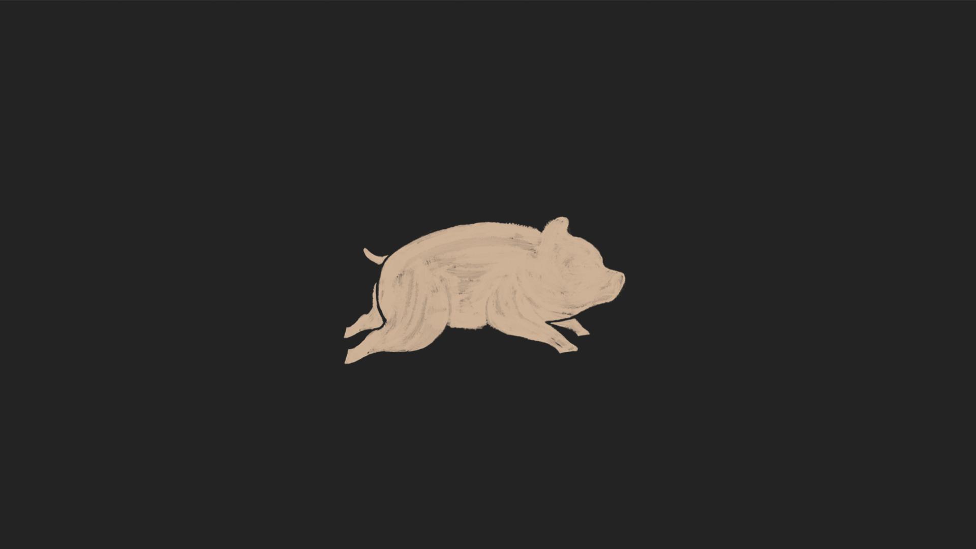 pig-black-blake-yoenpaperland
