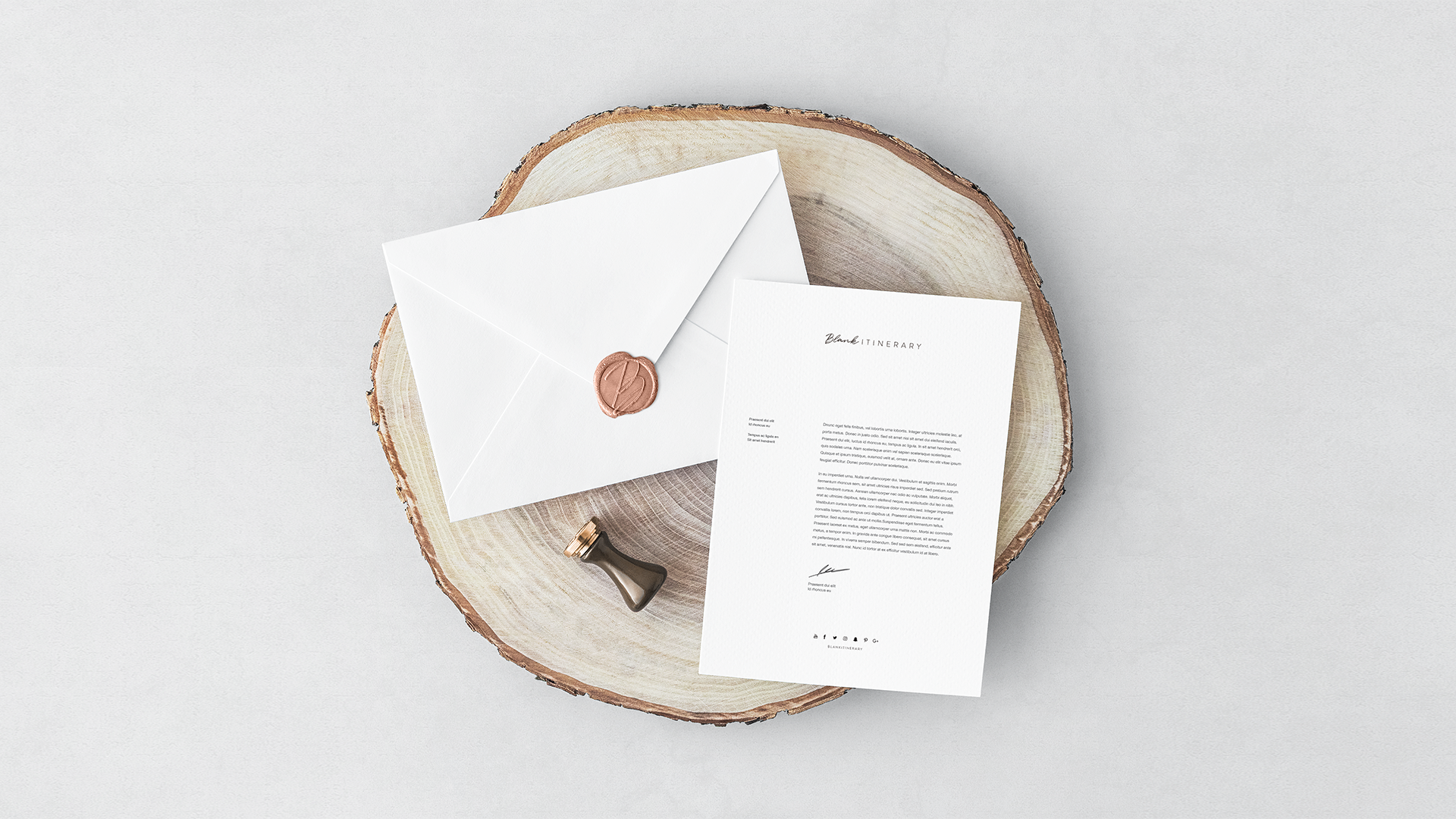 Invitation-Card-&-Envelope-blank-itinerary-yoenpaperland