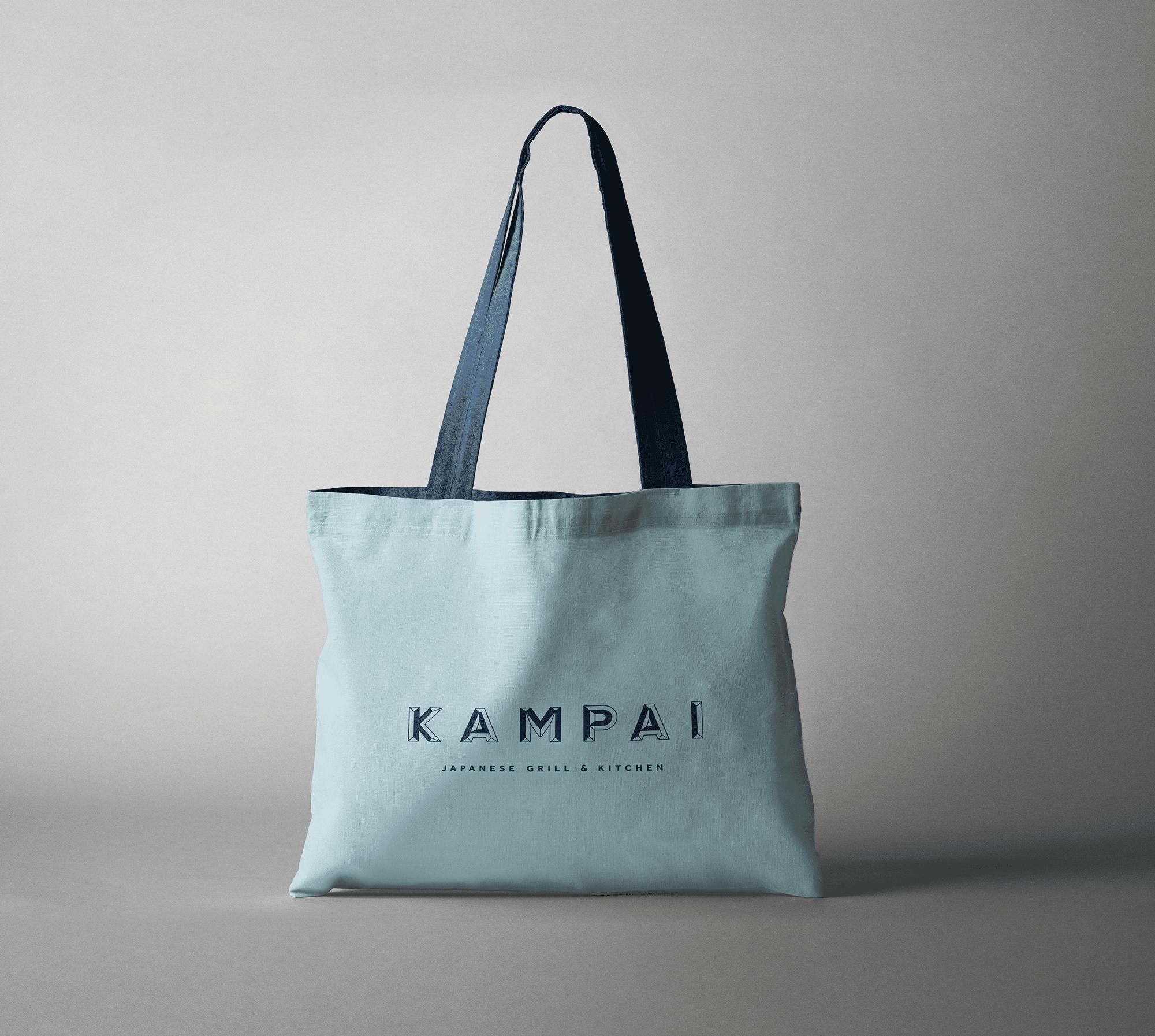 Tote-Bag-blue-Kampai-yoenpaperland